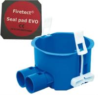 ABB HAF perilex hollewanddoos HW180-F + 1 Firetect seal pad