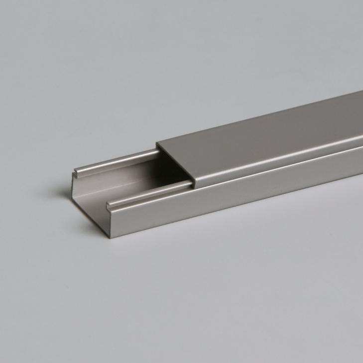 ATTEMA Z25 kokerkabel met deksel 13x25 mm - aluminium per 2 meter (AT9013)