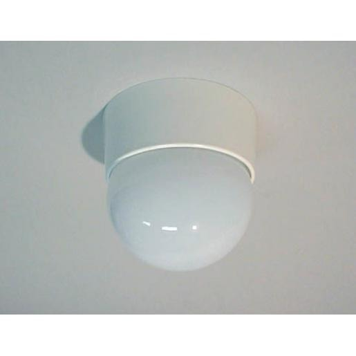 Hateha plafondarmatuur wit opaalglas Ø 170 (223330)
