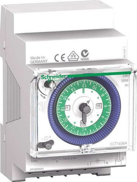 Schneider Electric analoge schakelklok 24 uur 1 kanaal (CCT16364)