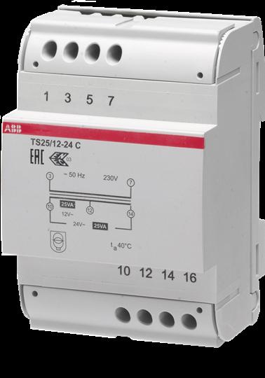 ABB Systeemcomponenten beltrafo 12-24V 25VA (2CSM251043R0811)