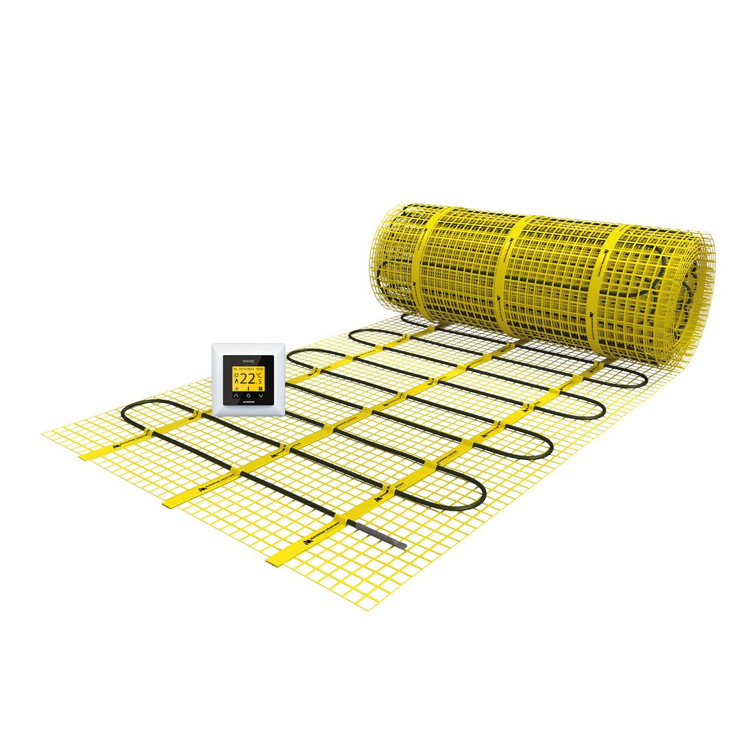 MAGNUM elektrische vloerverwarmingsmat 0,75 M2 (113W) met thermostaat