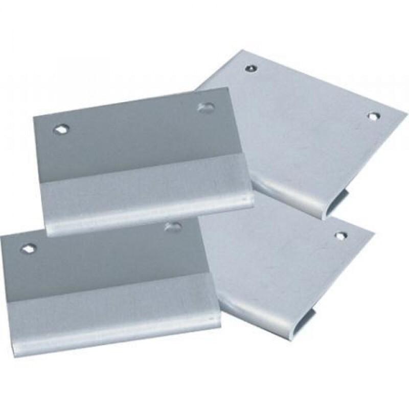 EV-box 4 beugels voor muurbevestiging RVS