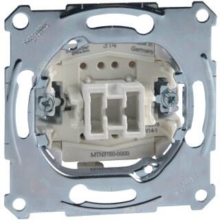 Schneider Electric Merten sokkel drukcontact pulsdrukker NO 1P 10A 250V (MTN3150-0000)