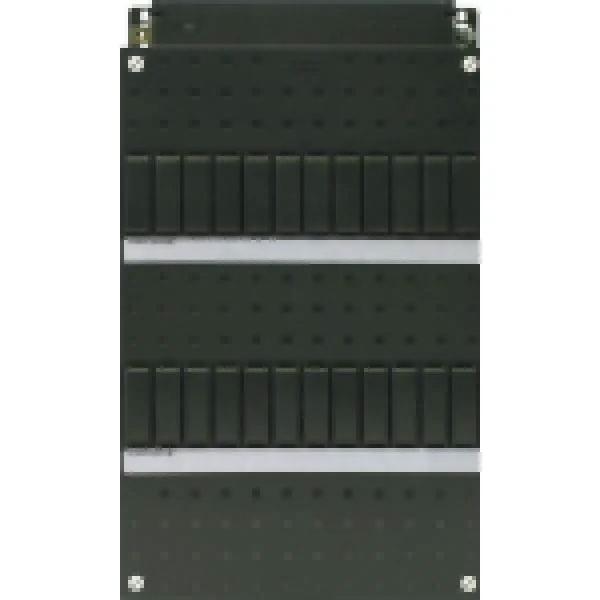 ABB HAF HLD33 lege kast 2-rijen 24 modules met DIN-rail 220x390 mm