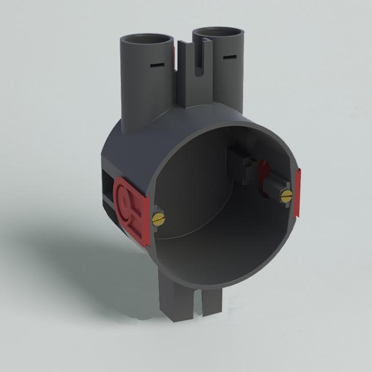 ATTEMA hollewand inbouwdoos 16/19 mm (HWD50L)