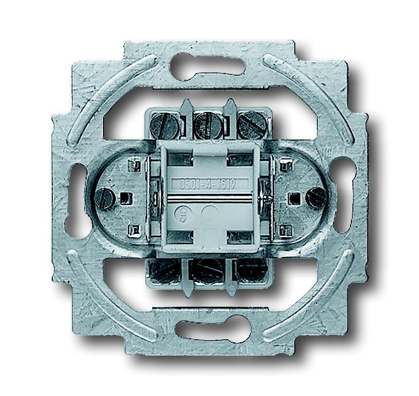 ABB Busch-Jaeger inbouw schakelaar 2P 16 zonder wip (2000/6/2 US)