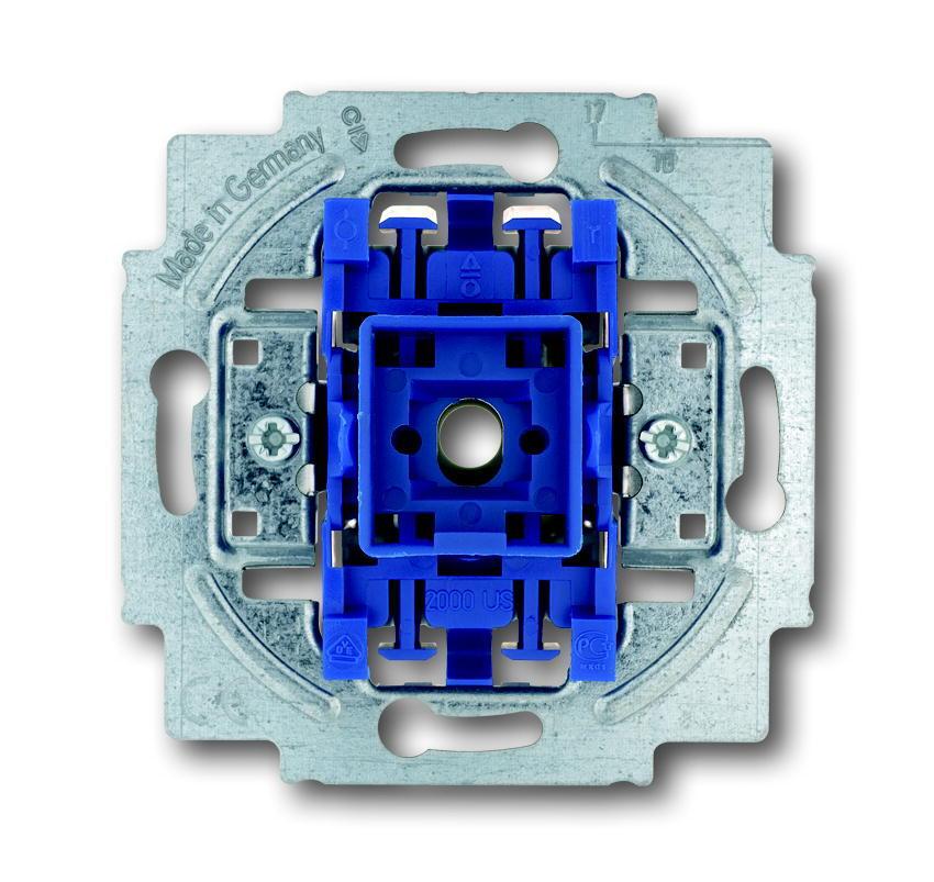ABB Busch-Jaeger pulsdrukker inbouw 1P maakcontact (2020 US-500)