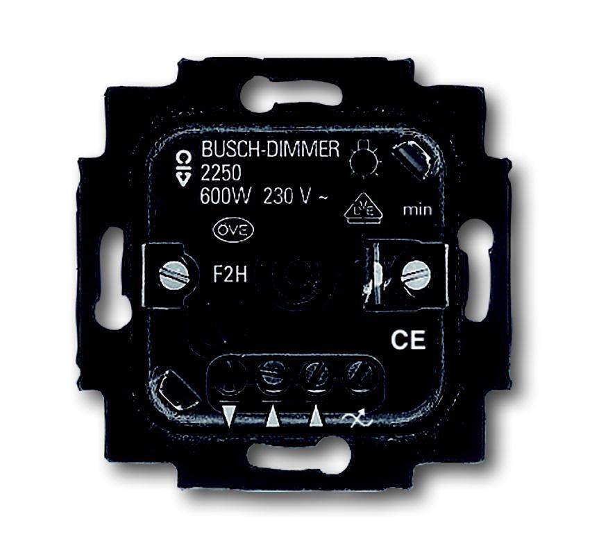 ABB Busch-Jaeger dimmer 60-600W (2250 U)
