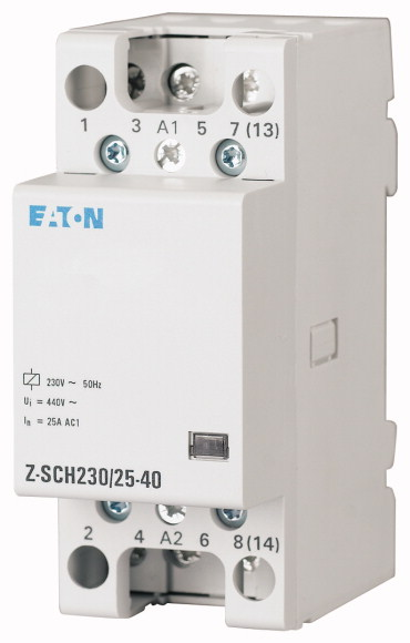 Eaton magneetschakelaar 230V 40A 4 maak en 0 verbreek (248852)