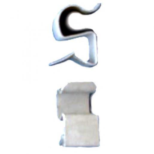 Newlec kabelclip met opschuifbare afwerking 2-4/15-19/16 mm per 100 stuks