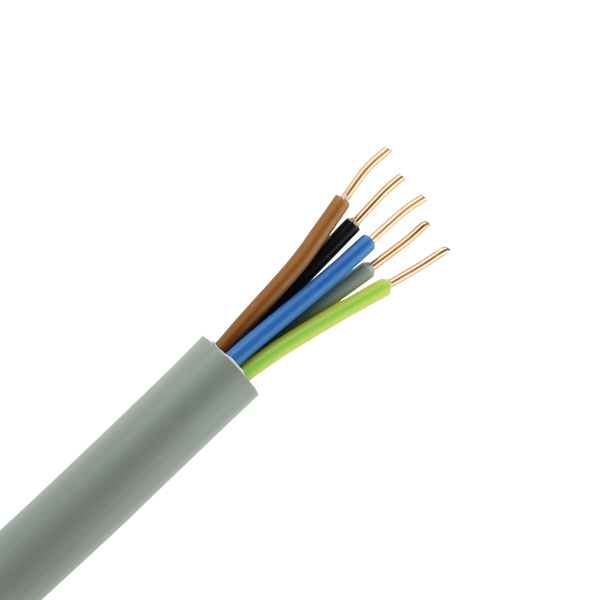 XMvK kabel 5X2,5 per rol 100 meter
