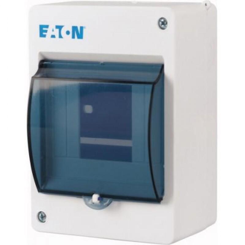 Eaton mini installatiekast leeg 1-rij 4 modules IP30 95x140x83 mm