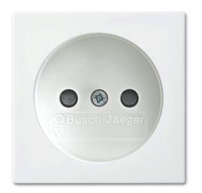 ABB Busch-Jaeger wandcontactdoos - Busch-balance SI zuiver wit (2300 UCB-914-500)