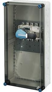 Hensel Mi hoofdschakelaar 160A 4-polig met PE-klemmen (Mi 7457)