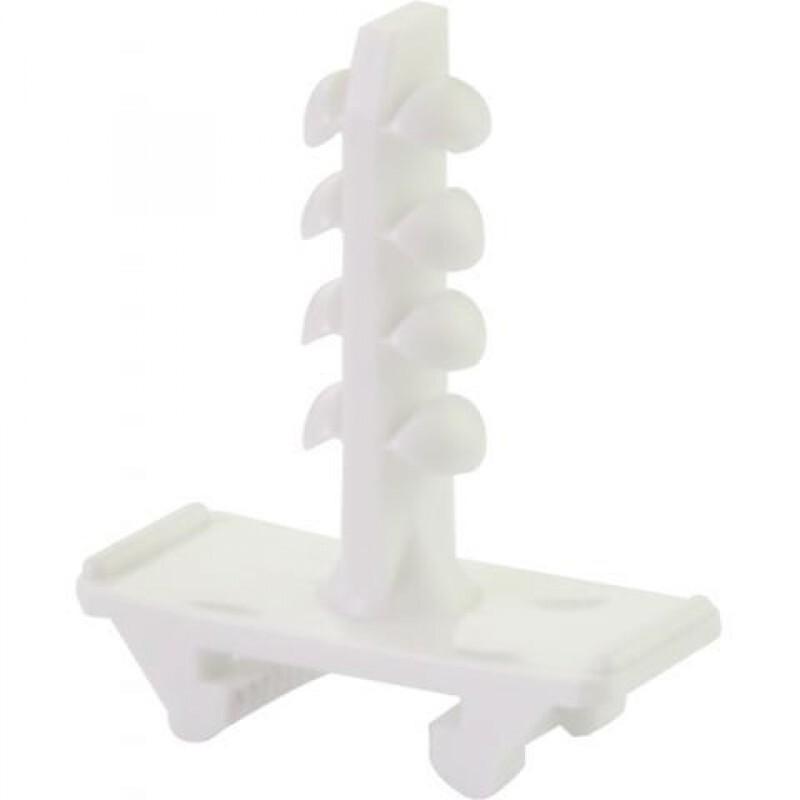Schnabl montageplug halogeenvrij 30 mm voor beton wit WIT per 100 (ESD30)