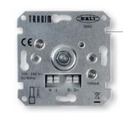 Tradim Dali-MCU muurdimmer enkel (2063EXOP-DALI)