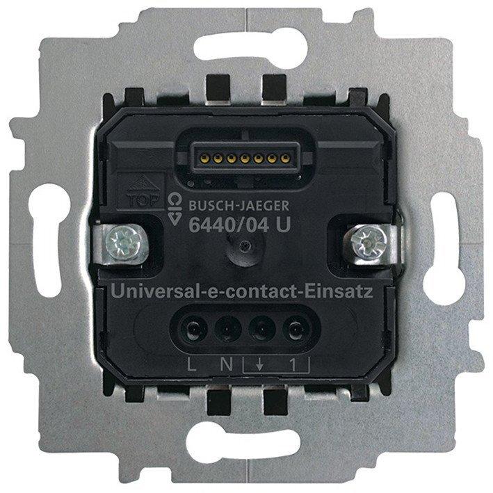 ABB Busch-Jaeger comfortschakelaar inbouw 6440/04 U universeel e-kontakt i (2CKA006400A0087)