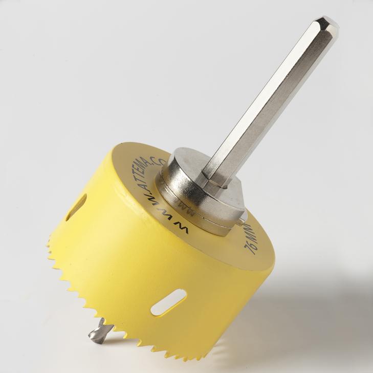 ATTEMA gatzaag 76 mm met centerboor (AT2888)
