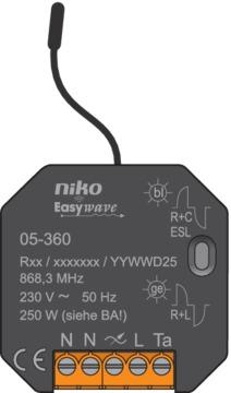 Niko Rf - Dimmer Inbouw 05-360