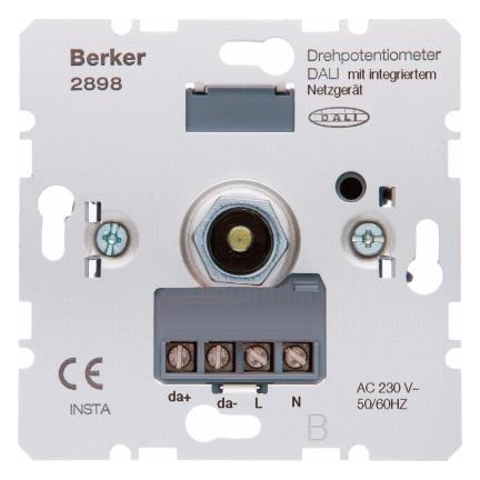 Hager 2898 BER 2898 DALI-DIMMER