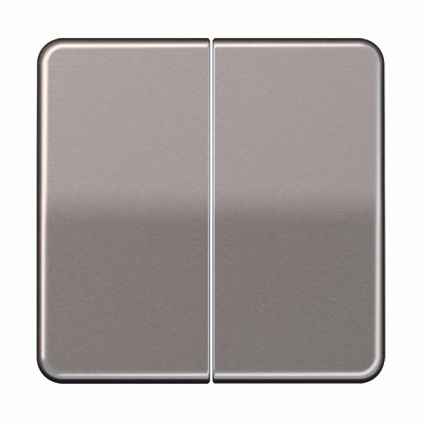 Jung (Hateha) tweedelige tastafdekking -CD500 goud (CD1565.07GB)