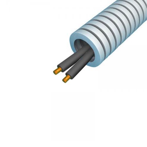 Snelflex Flexibele buis VD draad 2x1,5 mm - 16 mm rol 100 meter