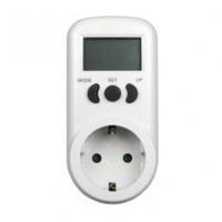 TIME-IT kWh meter stekker digitaal 230V 16A