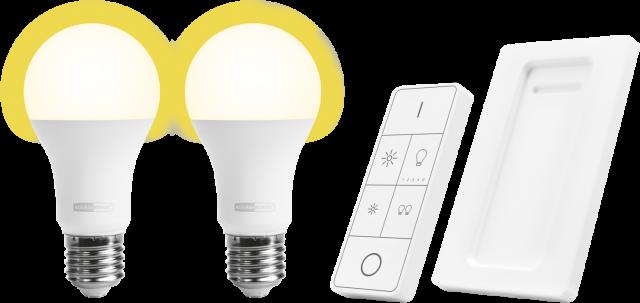 KLIKAANKLIKUIT slimme lampenset E27 AB ALED2-2709R