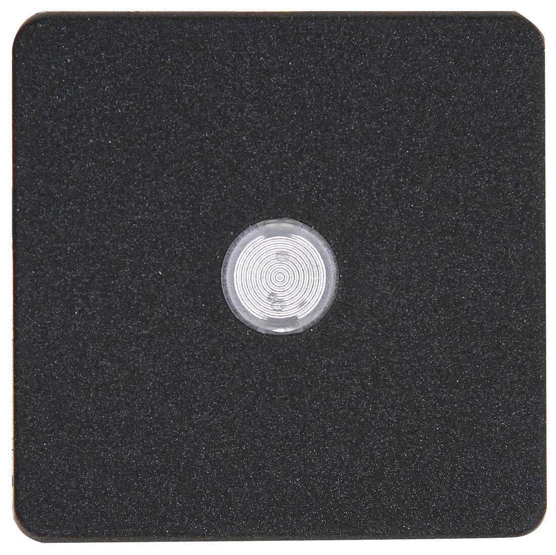 Kopp HK02 bedieningswip met lens 1-voudig antraciet