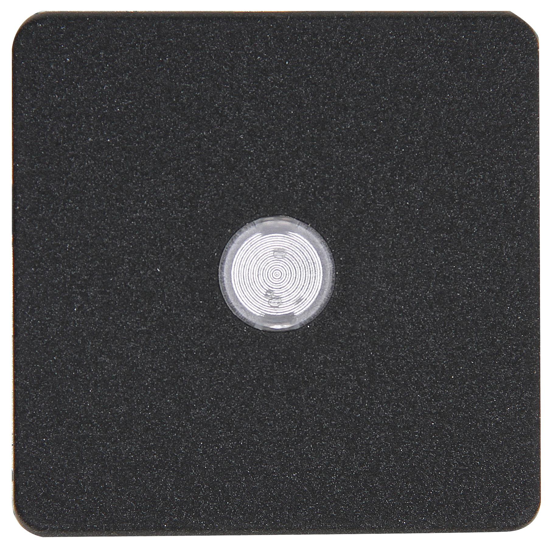 Kopp HK02 bedieningswip met lens 1-voudig antraciet per 10