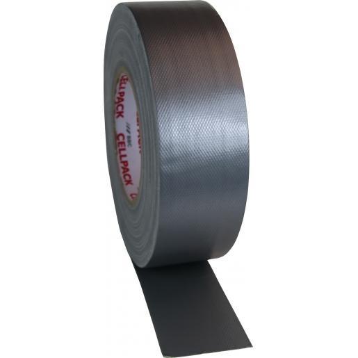 Cellpack Premio ducttape Vezelversterkt 50mmx50m grijs (364660)