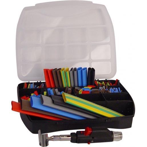 Cellpack 3C assortimentsdoos krimpkous en verbinder kleur met gereedschap (364672)