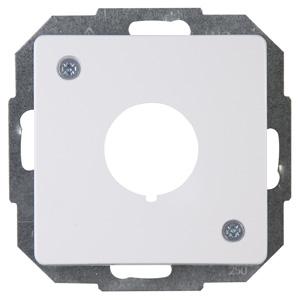 Kopp HK05 centraalplaat inbouw bedieningselementen - wit