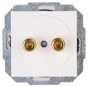 Kopp HK07 luidsprekerstopcontact inbouw - wit