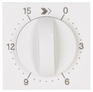 Kopp HK07 centraalplaat mechanische tijdschakelaar 15 min - wit