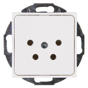 Kopp HK07 telefoonstopcontact NL inbouw - wit