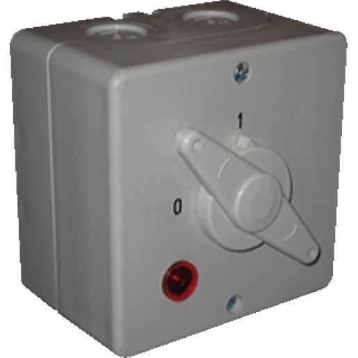 ASN SONTHEIMER wasmachine trekschakelaar en signaallamp 32A 2P
