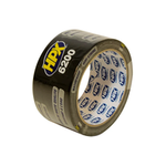 HPX duct tape 50mm x 10 meter zwart (CB5010)