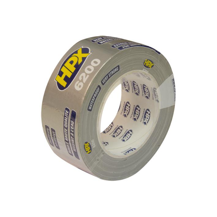 HPX duct tape 50mm x 25 meter zilver (CS5025)