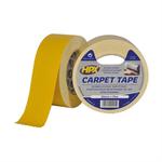 HPX dubbelzijdig tapijttape 50mm x 25 meter wit (CT5025)