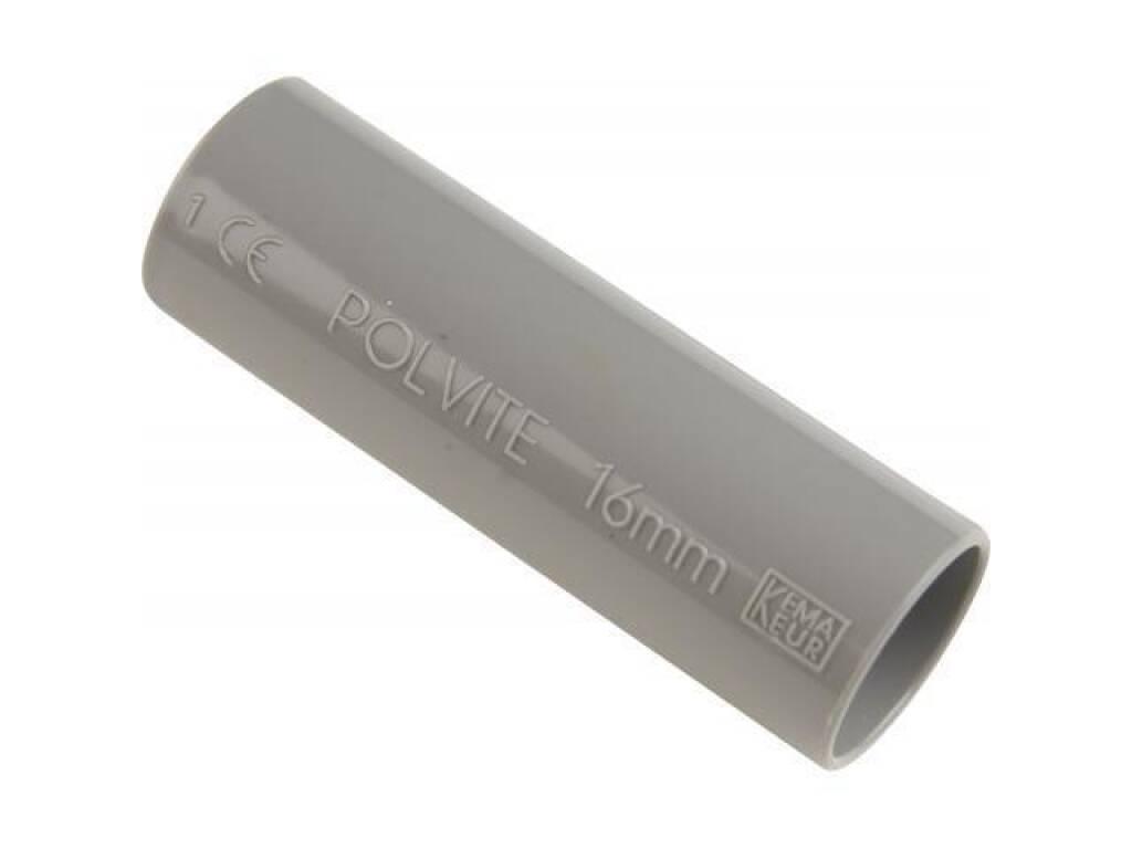 PIPELIFE sok installatiebuis 19 mm slagvast grijs per 50 stuks