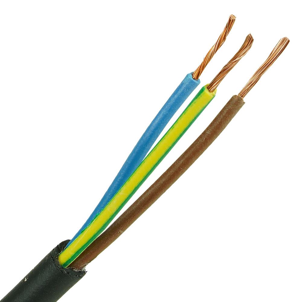Neopreen kabel H07RNF 3x1 per meter