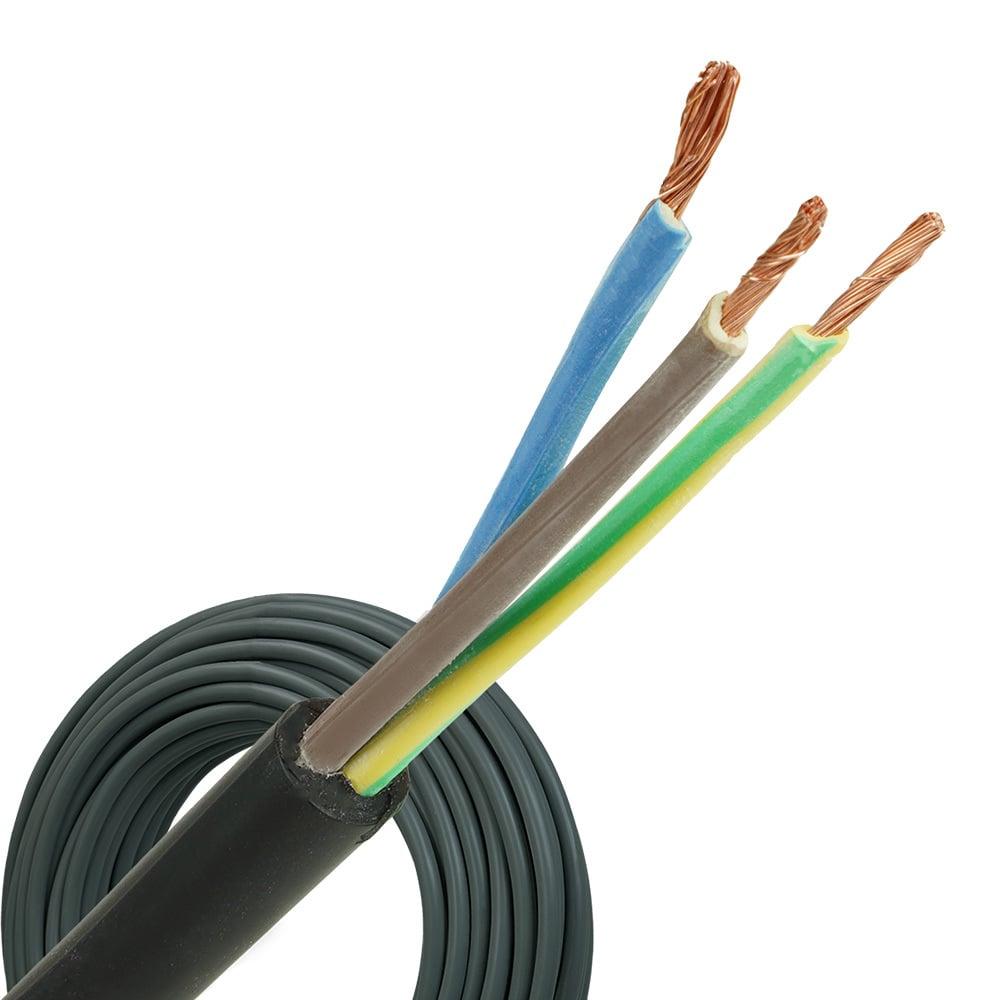 Neopreen kabel H07RNF 3x1,5 per rol 100 meter