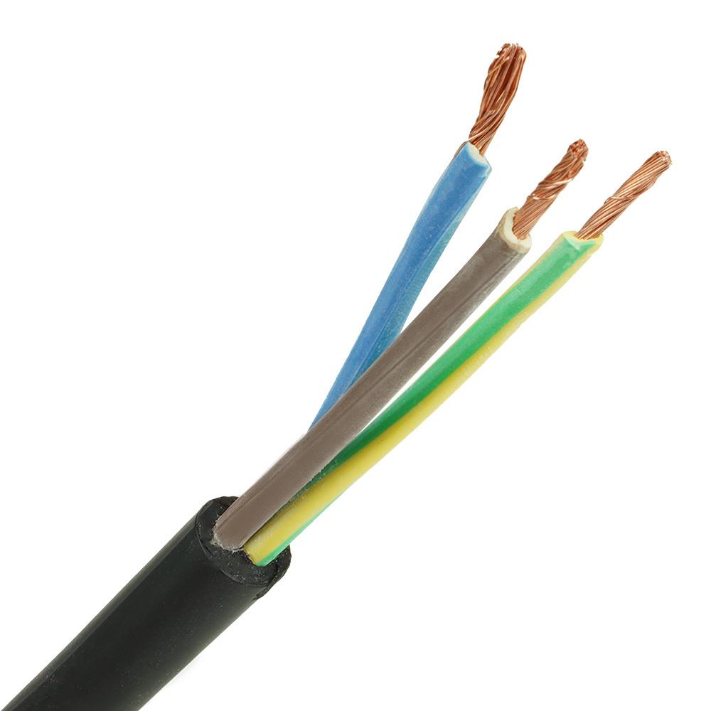 Neopreen kabel H07RNF 3x1,5 per meter