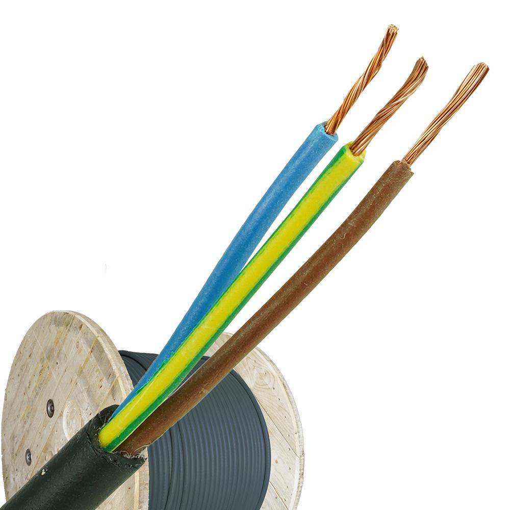 Neopreen kabel H07RNF 3x1 per haspel 500 meter
