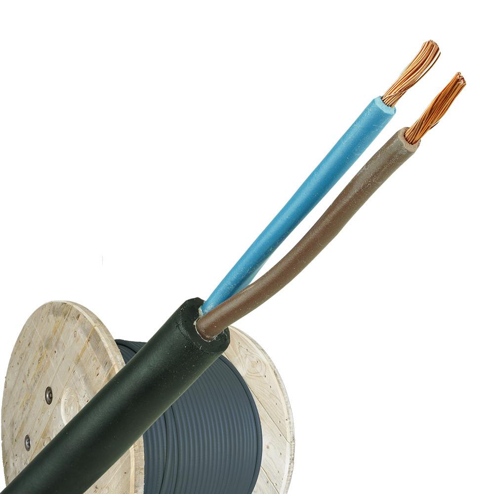 Neopreen kabel H07RNF 2x2,5mm haspel 500 meter