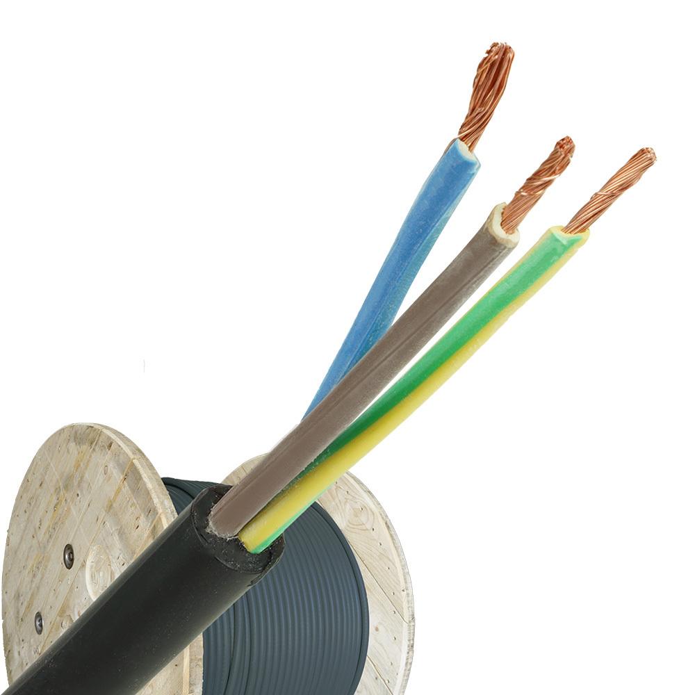 Neopreen kabel H07RNF 3x2,5 per haspel 500 meter
