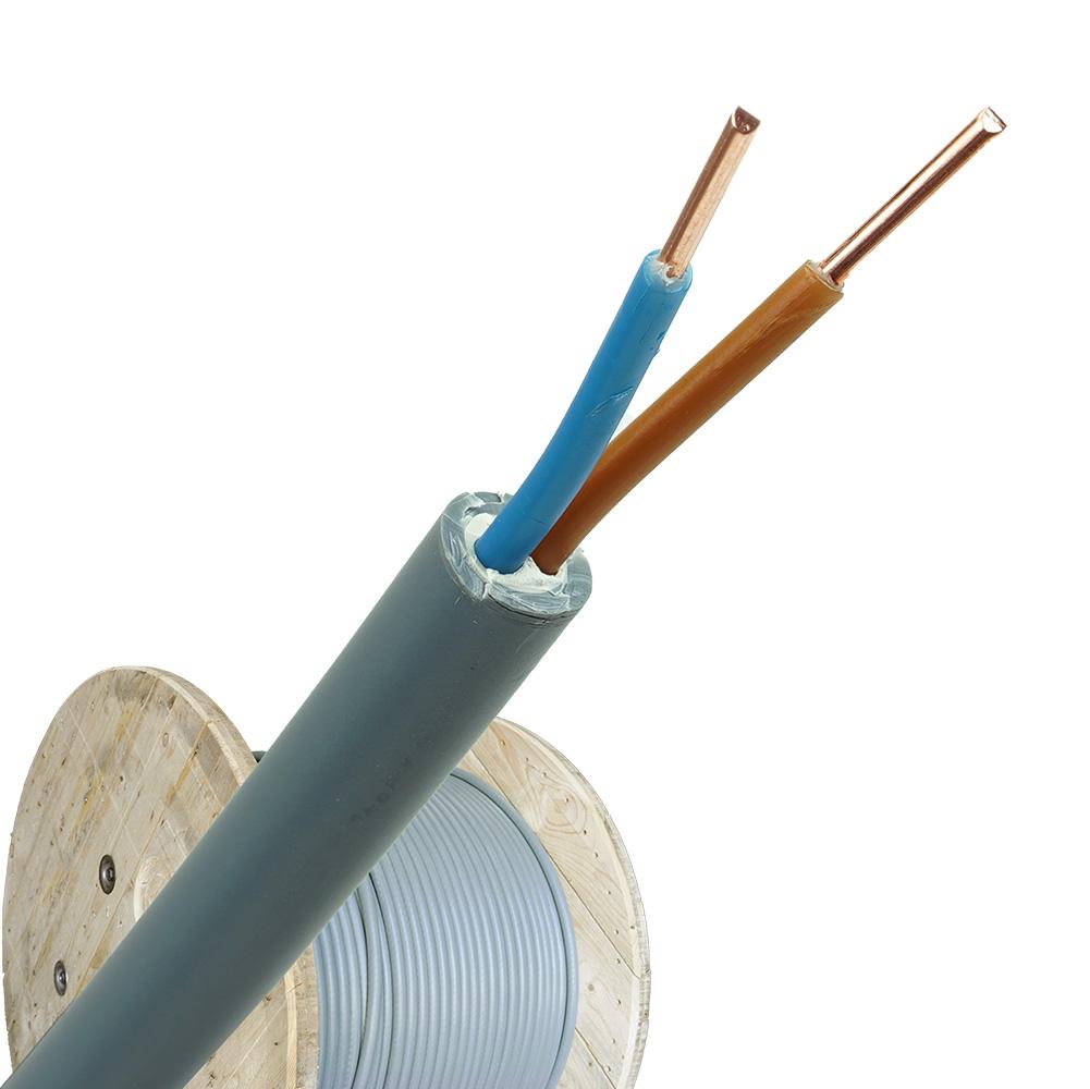 YMvK kabel 2X2,5 per haspel 500 meter