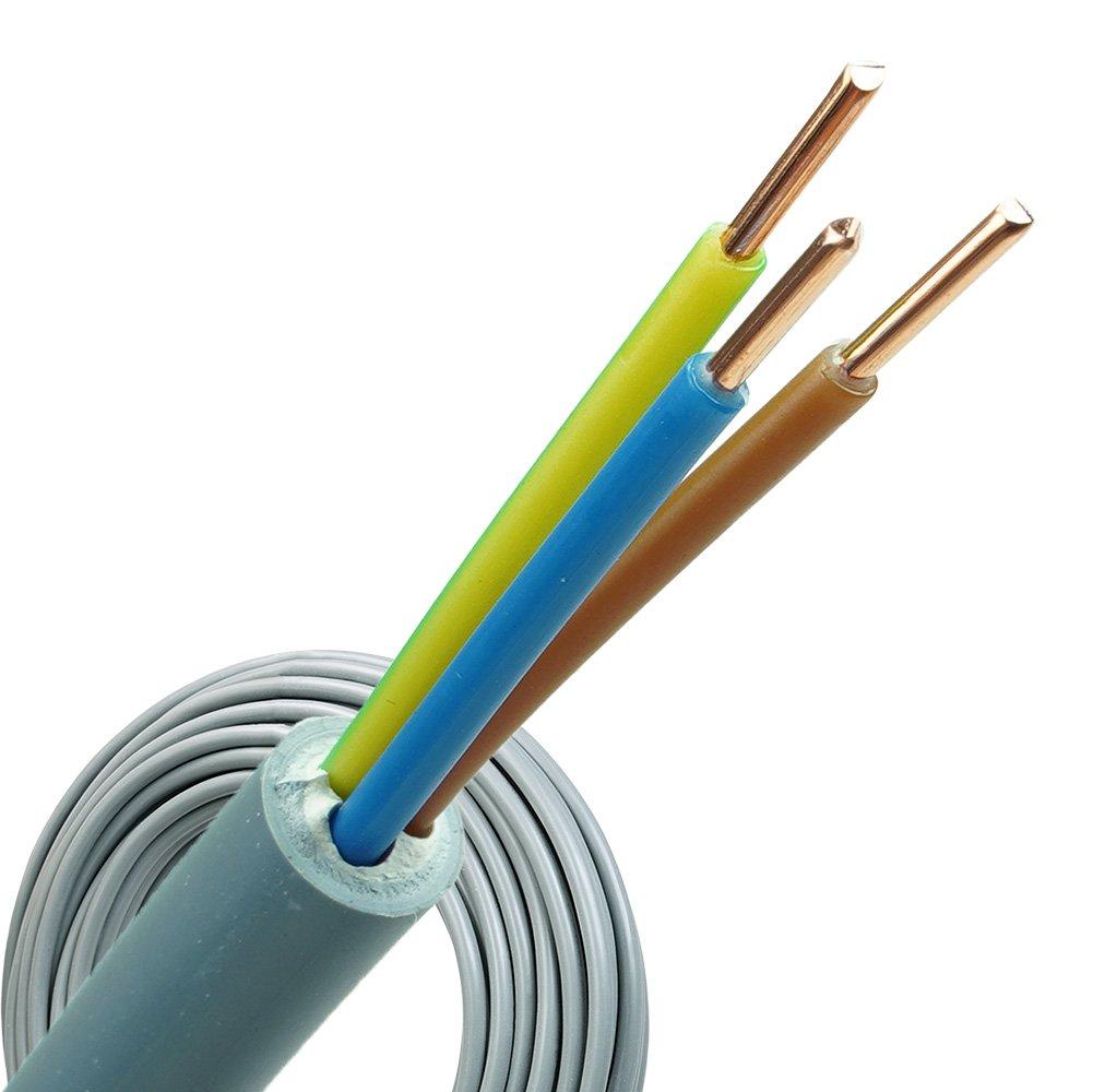 YMvK kabel 3x2,5 per rol 100 meter
